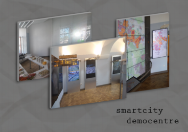 Tartu Town Hall Smart City demo centre exhibits