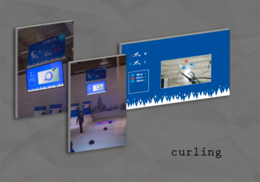 """Aha – Winter Games!"" exhibition curling scorekeeper application"