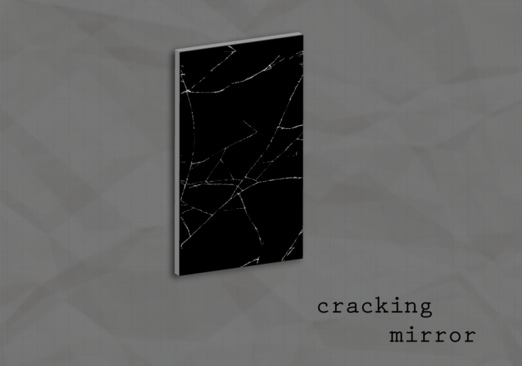 Mõranev peegel Teaduskeskuses Ahhaa