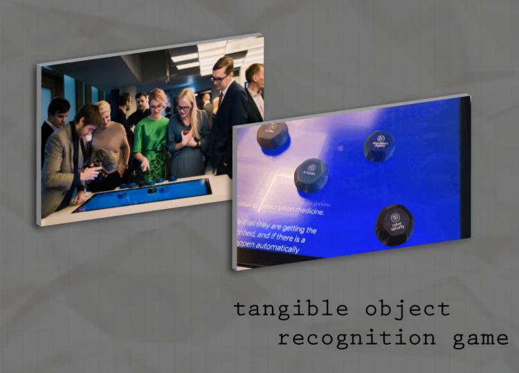 Objektituvastustehnoloogial põhinev mäng e-Eesti esitluskeskuses