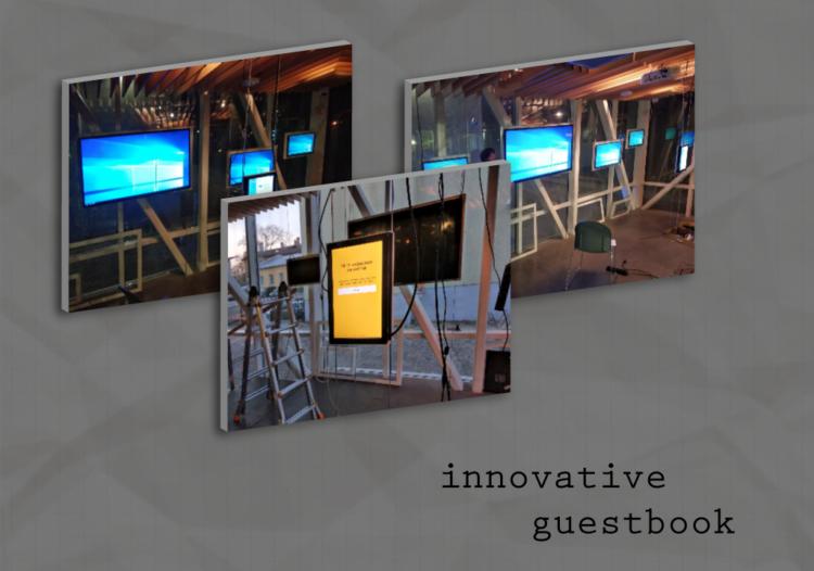 Innovatiivne külalisteraamat Vabamu okupatsioonimuuseumis